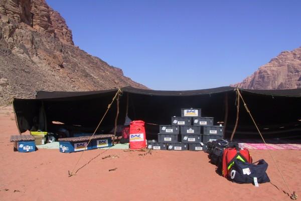 DocTrotter en Jordanie : Desert Cup 2001