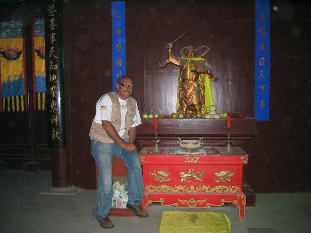 DocTrotter en Chine: Pékin Express, 2006