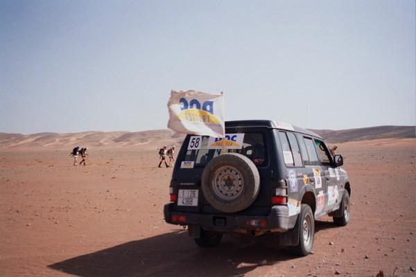 DocTrotter au Maroc : 23e Marathon des Sables 2006